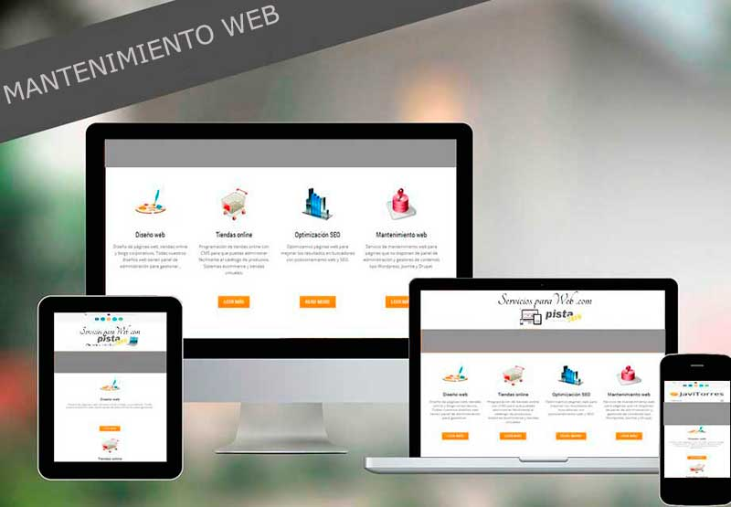 Mantenimientos paginas web