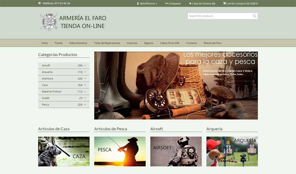 armeria-el-faro-pagina-web
