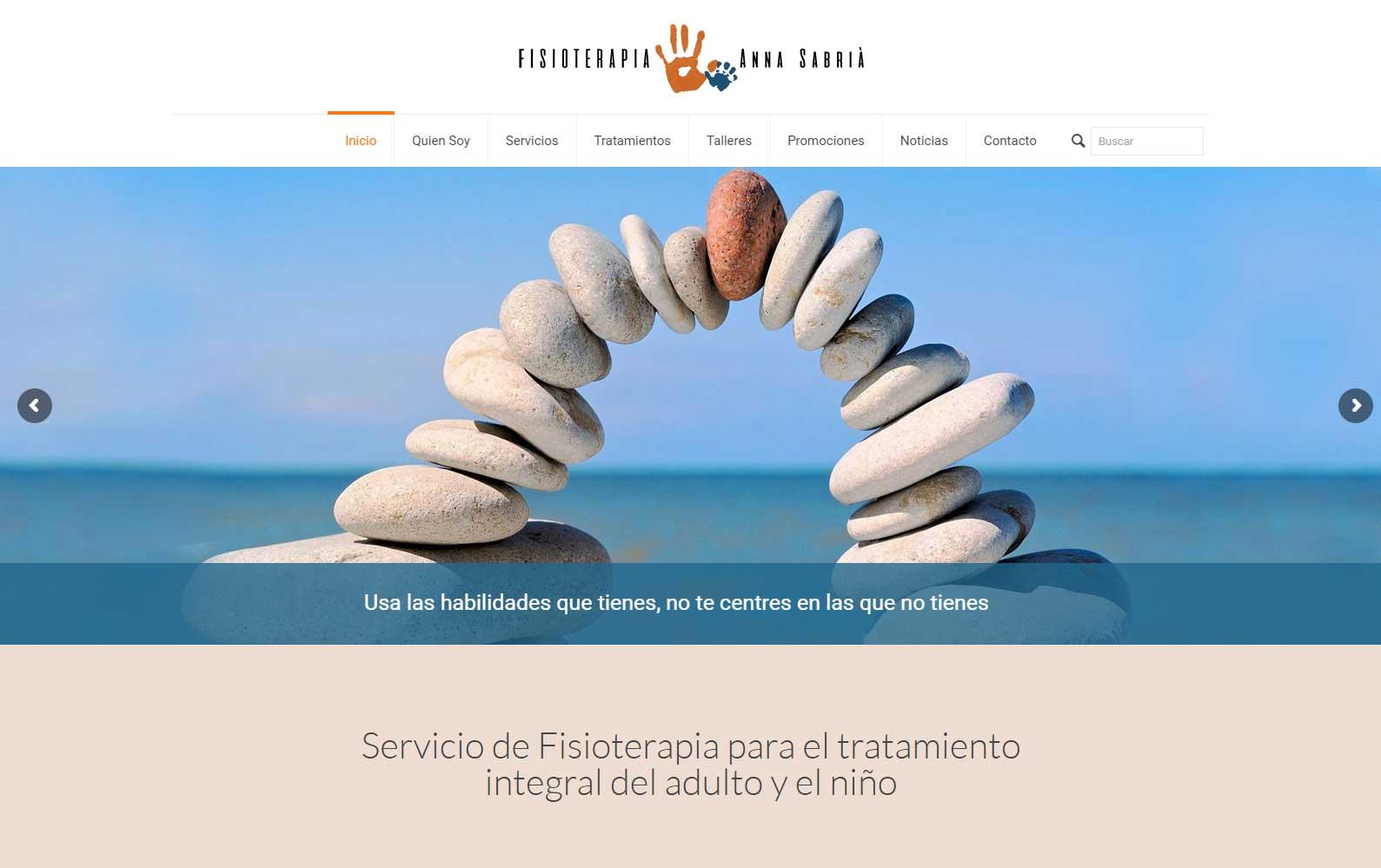 Página Web Fisioterapia